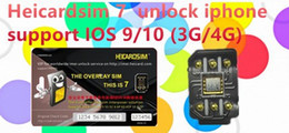 Wholesale 2016 NEW heicard sim easy top unlock att t mobile and other carrier support ios10 support S S P SP wcdma g