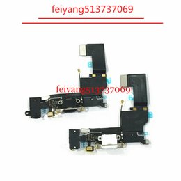 1pcs Original Charger Charging Port USB Dock Connector For iPhone SE Headphone Audio Jack Flex Cable