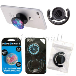 Wholesale Universal Phone Holder Popsockets Popclip Combo Air Expanding Stand Grip Bracket Mount For iPhone Plus ipad Tablet PC Pop Socket