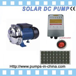 Wholesale 3 years warranty high flow surface price solar powered water pump system for agriculture irrigation pond JCPS