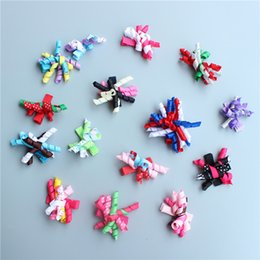 Canada Enfants Colorful Curler Gum pour Hair Wave Roll Ruban Bandeau Ponytail Holder Filles Nouilles Forme Elastic Hair Fands GB027 ribbon hair curlers on sale Offre