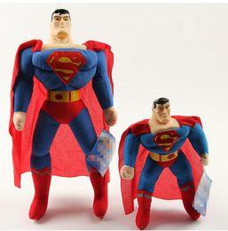 2017 superhéroes juguetes de peluche Nuevos juguetes de la felpa del super héroe de la maravilla de la llegada lindos el regalo de cumpleaños del juguete de la muñeca de la felpa de los vengadores Superman los 25cm / 40cm superhéroes juguetes de peluche outlet