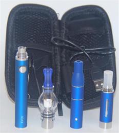 Descuento pluma vaporizador de hierbas Magic Pen Kit 3 en 1 Cera Hierbas Secas Ago Vaporizador E Cigarrillos con MT3 Glass Globle Atomizer Batería EVOD 900mah Starter Kit