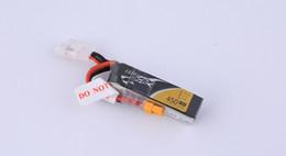 lithium polymer battery TATTU FPV 450mAh 11.1V 75C 3S1P FPV lipo battery