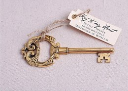 Fast Delivery Factory directly sale Antiqued Key Bottle Opener Wedding Favors Gifts Wedding Supplies Wedding Souvenirs