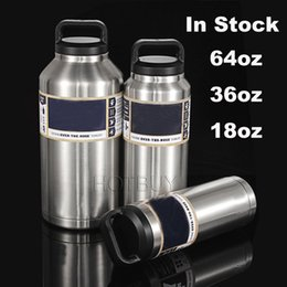 Wholesale Tumbler Bottle oz oz oz Stainless Steel Mug oz Large Capacity With Insulated Leak Proof Cap Yetis