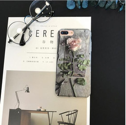 Phone Case For iphone 6 6S 7 Plus 5 5S Bling Glitter Powder Cases Fashion Blue Ray Cartoon Flower Capa Cute Soft Back CoveR