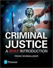 New Book Criminal Justice: A Brief Introduction (12th Edition) ISBN: 978-0134548623