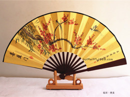Wholesale China wedding hand fan man hand fans decoration many bamboo wedding tourism gift