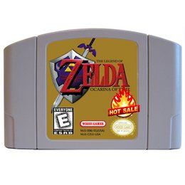 new brand classic games for CANDA & USA version free shipping via DHL Legend of Zelda: Ocarina of Time, The
