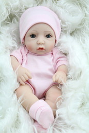 28cm Realistic Reborn Baby Doll Soft Silicone Vinyl Newborn Baby Girl Kids Children Birthday Toy Gift