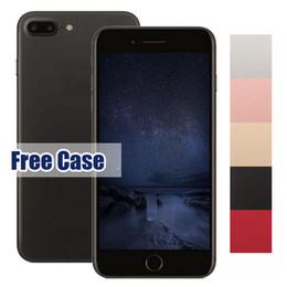 2017 pouces 1gb I7 Plus Goophone 5,5 pouces 3G Smartphones 1 Go / 4 + 4 Go Quad Core MTK6580 Andriod WIFI Débloqué Téléphone portable Smartphone