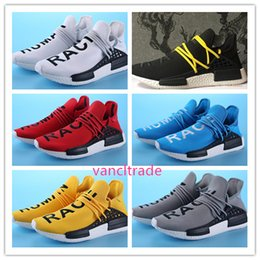 2017 chaussures de sport bon marché 2017 New Human Race Pharrell Williams X NMD Sports Chaussures de course discount Cheap top Athletic mens Outdoor Boost Training Sneaker Shoes bon marché chaussures de sport bon marché