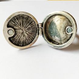 Gothic Punk, steam five star box, black gemstone, ancient silver ring, DIY handmade accessories