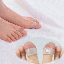 DHL Free Shipping Guaranteed 100% New Magnetic Silicon Foot Massage Toe Ring Weight Loss Slimming Easy & Healthy