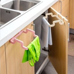 Wholesale Kitchen Cabinet Hanging Rubbish Bag Holder Garbage Storage Rack Cupboard Hanger Your Best Choice