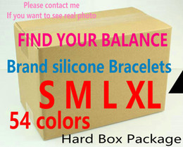 Wholesale Brand Bracelets Find your balance New Dark Red Colors Designer Quality with Original Tag