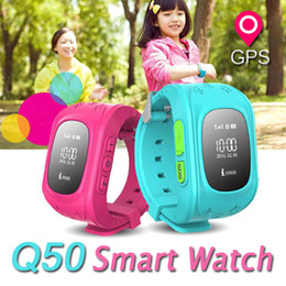 Wholesale Q50 GPS Tracker Smart Watch For Child Kids SOS Safe Call Location Finder Locator Trackers Anti Lost Monitor Smartwatch For Children