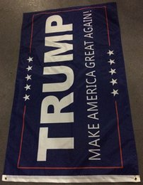 Wholesale 90 cm Trump Flag Make America Great Again DONALD TRUMP Flag for President USA American Presidential Election Flag
