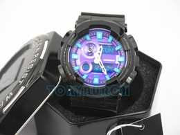 Wholesale with box New arrival AAA relogio GAX men s sports watches popular men watch LED all pointers work ATM water resistant wholsale