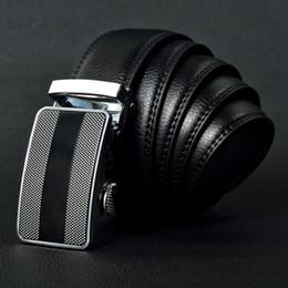 Cinturones de cuero en venta-2016 marca BOS cinturón de cinturón de lujo de lujo automático hebilla cinturones de cuero genuino correas cinturón de jeans para hombres