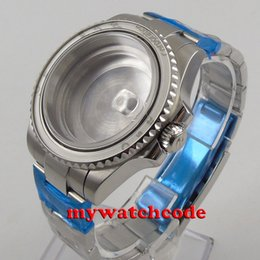 40mm sapphire glass Watch Case set fit eta 2824 2836 MOVEMENT C116