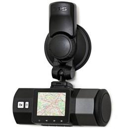 Compra Online Cámaras de lentes de porcelana-Cámara del coche del dvr del coche Cámara de la pantalla del LCD de 1.5 pulgadas A95F con la resolución completa del GPS HD Cámara de la rociada de la lente granangular de 170 grados