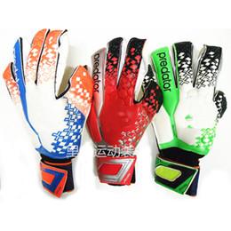 Wholesale 2015 Predator Allround Latex Soccer Professional Goalkeeper Gloves Goalie FootballBola De Futebol Gloves Luva De Goleiro