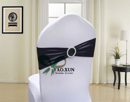Bronzing Coated Lycra Spandex Chair Band Sash Fit On Wedding Chair Cover