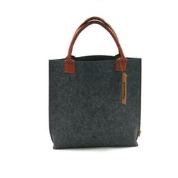 Felt Handbag Tote Shoulder Bag Shopping bag Free Shipping Can add logo