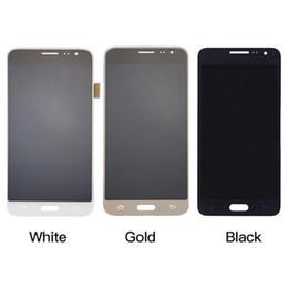 2017 écran tactile pour samsung Pour Samsung Galaxy J3 J320 F / P / M / Y Écran LCD Écran tactile Digitizer Assemblée Livraison gratuite abordable écran tactile pour samsung