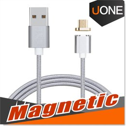 Wholesale Magnetic Charger Adapter Micro USB Cable Durable Charging Sync Connector Data Cable For Android device Feet Meter extreme charging