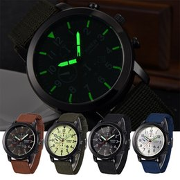 Wholesale Moment beauty authentic fashion nylon braided tiles tide van gods double calendar quartz watch light watch