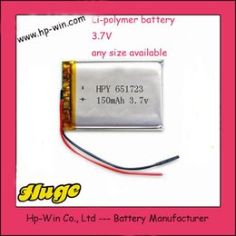 wholesale JJRC H36 3.7V 150mAh Lipo Battery For JJRC H36 & Eachine E010 Li-po Battery RC Quadcopter Spares Parts Toys Accessories