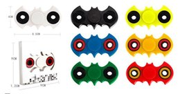 in 2017,New Batman Hand Spinner Wholesale Fidget fingertips spiral fingers Adults Stress Relief Kids Gift with Retail Box 7 Colors