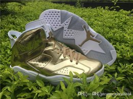 Wholesale Air A Jordan Retro Pinnacle Metallic Gold Jordans Retros s Pinnacle Come With Original Box