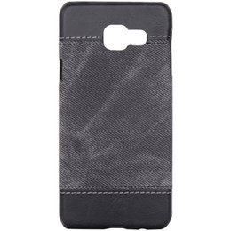 Denim Pattern Back Cover for Samsung Galaxy A310 Case Retro Matte Phone Cases for A310 Business Protective Shell