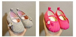 cotton baby shoes girls soft first walkers toddler shoes wholesale