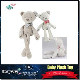 Wholesale 42cm Baby Plush Bear Sleeping Comfort Doll Plush Toys Millie Boris Smooth Obedient BearSleep Calm Doll