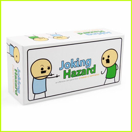 Joking Hazard Humanity Party Game Funny Games For Adults With Retail Box Comic Strips Card Games Hot Sell 2017 Fum Card Quality In Stock