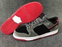 Sb dunks à vendre-SB Dunk Low Pro Ishod Wair chaussures de skate pour hommes Noir Gris Rouge Chaussures de sport sportive extérieure athlétique pour femmes de haute qualité
