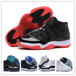 2017 chaussures de sport pas cher 2016 Cheap Sale 11S Chaussures de basket-ball Concord Space Jam Femmes Hommes Sport Chaussures Discount Rouge Sport Sneakers Athletics Chaussures Avec Box chaussures de sport pas cher ventes