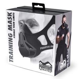 Wholesale Phantom Athletics Training Mask popular Mask sport mask drop shipping