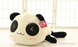 Oreillers panda en peluche à vendre-30cm Panda poupée oreiller, panda jouet en peluche, peluche panda jouet ours ours en peluche poupée fille valentine