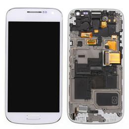 Promotion écran tactile pour samsung Pour Samsung Galaxy S4 Mini i9190 numériseur d'assemblage lcd d'origine + écran tactile assemblage complet + outils de réparation gratuits