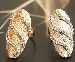New Arrivals Gold Silver Plated Wedding Finger Nail Ring Simple Fashion Women Men Jewelry Rings