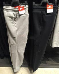Wholesale Tech Fleece Sport Pants Space Cotton Trousers Men Tracksuit Bottoms Man Jogger Tech Fleece Camo Running pant Colors