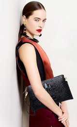 clutch bag purse women shoulder handbag ostrich tote lady new arrive JP AU France CA wallet crocodile Togo genuine leather bag Paris US EU