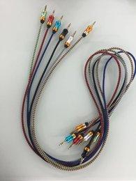 Armadura usada en Línea-Nuevo 2017 1M Cable de tejido de cable de audio se puede utilizar para la conexión de cable de auriculares rápida y fácil