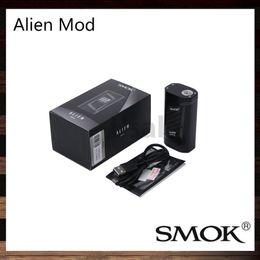 Wholesale SMOK Alien TC MOD W Box Mod Firmware Upgradable Big OLED Display VW TC Mod Best Match TFV8 Baby Tank Original